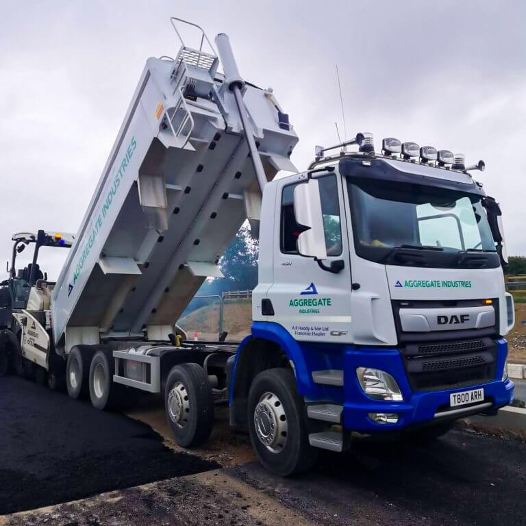 our-newest-lorry-delivering-tarmac-2
